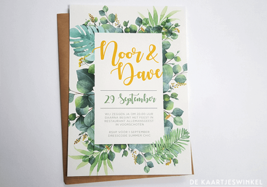 trouwkaart-garden-botanisch-natuur-weddinginvite